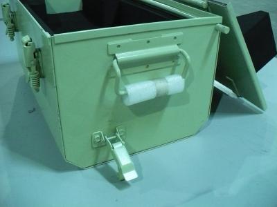 Steel CARC Painted Ammo Box Defense