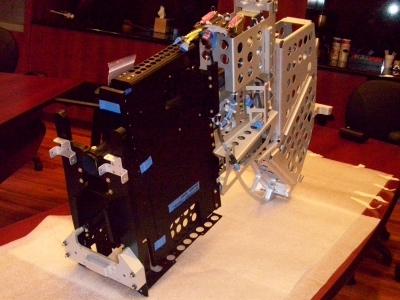 Anodized Aluminum Airplane Seating Assembly Aerospace 01