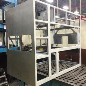 Steel Tubular Frame Assembly for Locomotive Power Transportation