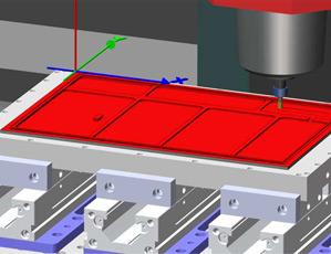 Mill Turn Simulator Large Plate